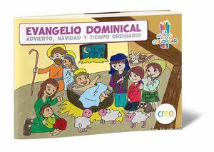 EVANGELIO DOMINICAL PARA COLOREAR