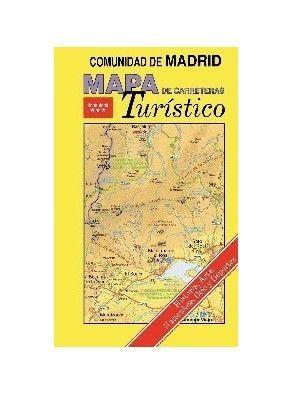 MAPA TURÍSTICO DE CARRERETAS DE LA COMUNIDAD DE MADRID