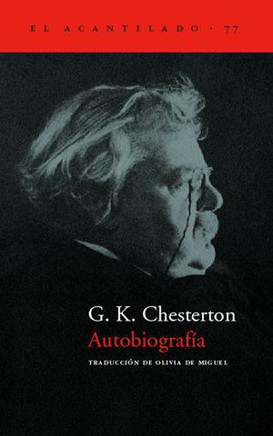 AUTOBIOGRAFÍA DE G. K. CHESTERTON