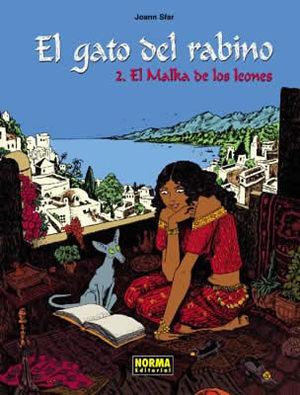 EL GATO DEL RABINO 2 - MALKA DE LEONES