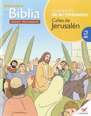 CALLES DE JERUSALEN ACTIVIDADES