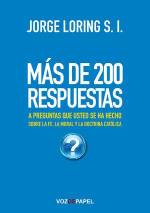 MÁS DE 200 RESPUESTAS