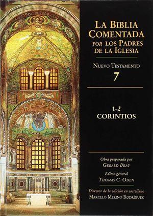 CORINTIOS 1-2 BIBLIA COMENTADA PADRES IGLESIA 7 NUEVO TESTA