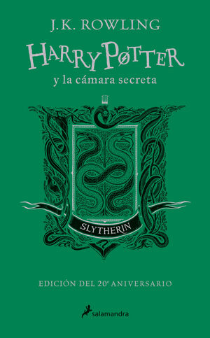 HARRY POTTER Y LA CÁMARA SECRETA. SLYTHERIN