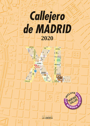 CALLEJERO DE MADRID 2020 XL