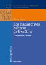 LOS MANUSCRITOS HEBREOS DE BEN SIRA